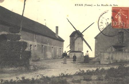 Vous visualisez les images de : Moulins à vent de Puisaye-Forterre